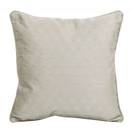 Hex Silver Small Cushion