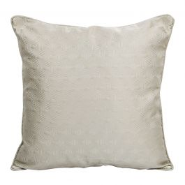 Hex Silver Large Cushion