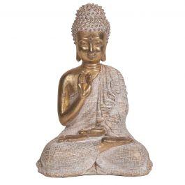Gold Sitting Buddha 23cm