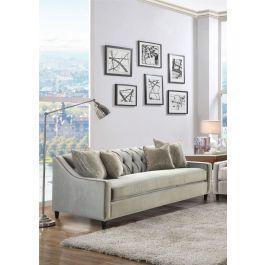 Alma Latte Sofa Range -3 Seater