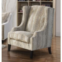 Alma Mink Sofa Range - Accent Chair