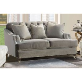 Avana Silver Sofa Range -2 Seater