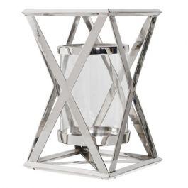 X Steel Candle Holder Medium