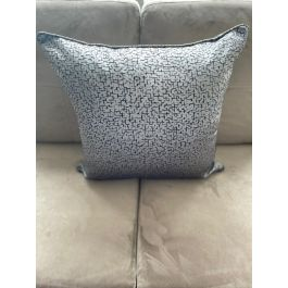 Cece Grey Small Feather Cushion