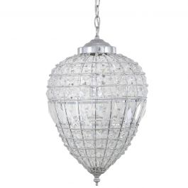 Danbury Small Crystal Ceiling Light