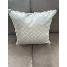 Diamond Silver Large Cushion