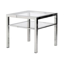 Toronto Steel Square Side Table
