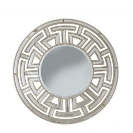 Louis Round Wall Mirror Gold