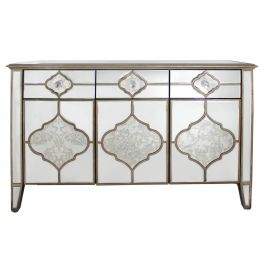 Medina antique Mirror 3 Drawer 3 Mirror Sideboard