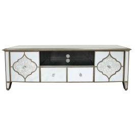 Medina Mirror 2 Drawer 2 Door Entertainment Unit