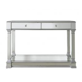 Louis Mirror Silver Console