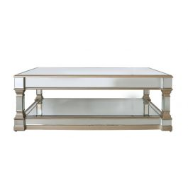 Louis Mirror Coffee Table Gold
