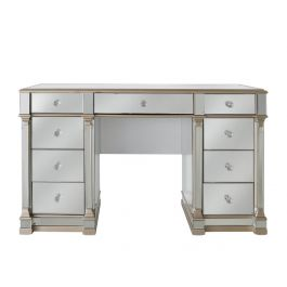 Louis Nine Drawer Dressing Table
