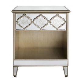 Medina Mirror 1 Drawer Cabinet