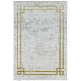 Olympia Grey/Gold Border Rug
