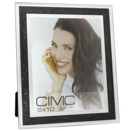Value Diamond Crush Black Photo Frame 8in X 10in