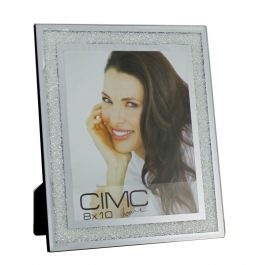 Value Diamond Crush Silver Large Photo Frame