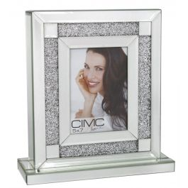 Bellagio Mirror Box Photo Frame 5in X 7in