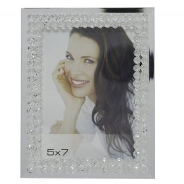 Mirror Bubbles Photo Frame (5in X 7in)