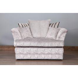 Savannah Greek Key Sofa-1.5 Seater