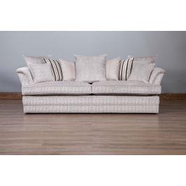 Savannah Greek Key Sofa-3.5 Seater