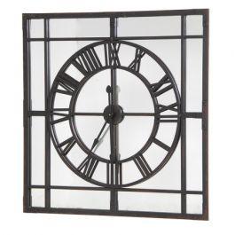 Framed Clock/Mirror