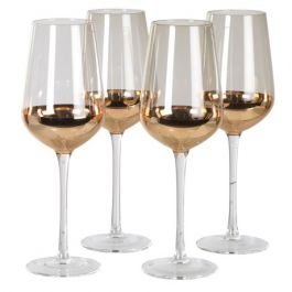 Smoky Red Wine Glasses Set