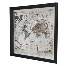 World Map Mirrored