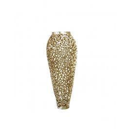 Gold Lucca Metal Vase Medium
