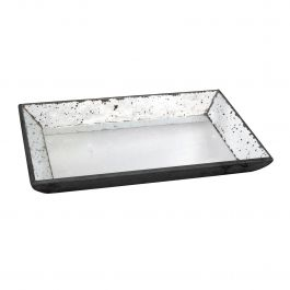 Antique Glass Tray Rectangle