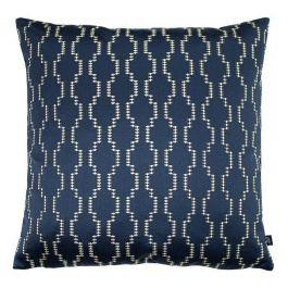 Nash Embroidered Cushion Ink/Royal