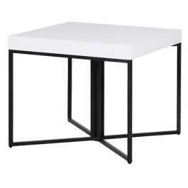 The White Gloss Side Table