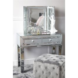 The Atlantis Grey Console Table