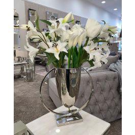 Silver Trophy Vase Medium
