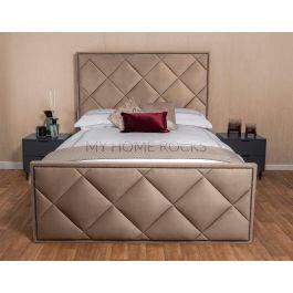 Rimini Velvet Bed