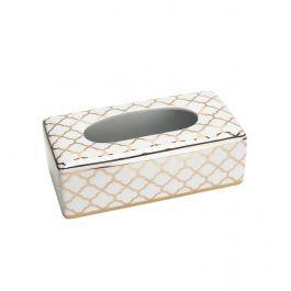Baroque Gold Tissue Box
