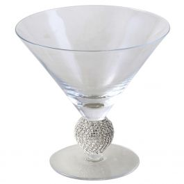 The Diamante Ball Ice Cream Glass