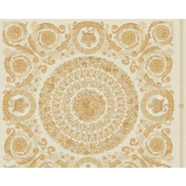 Versace Wallpaper Baroque Gold Yellow
