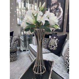 Silver Classical Vase - Small
