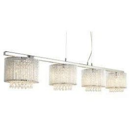 Elise 4 Light Ceiling Bar