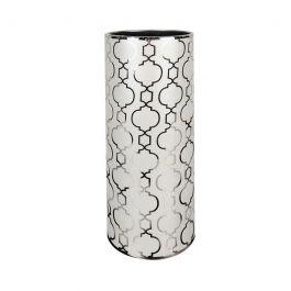 Marrakech Grey/Silver Vase
