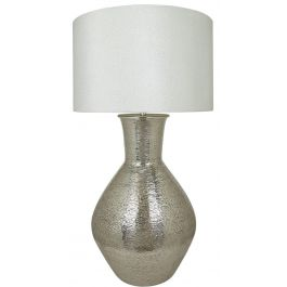 Olpe Nickle Floor Lamp 24 Inch Shade