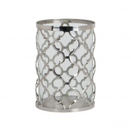 Arabesque Patterned Candle Holder Large
