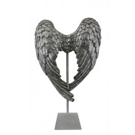 Silver Angel Wing Decoration