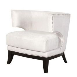 The Studded White Chair
