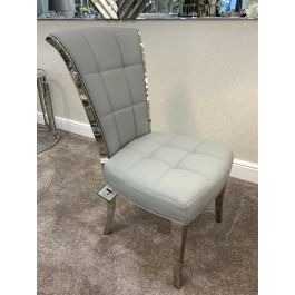 Denver Dining Chair Grey