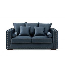 Valentia Two Seater Sofa Blue