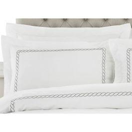 Cleopatra Silver Single Pillowcase