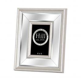 Silver Mirrored Photo Frame 4x6