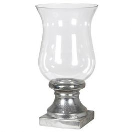 Orb Silver Candle Holder